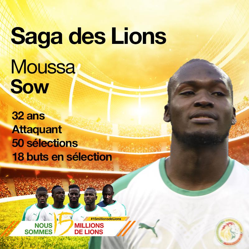 Moussa Sow, tout chaud