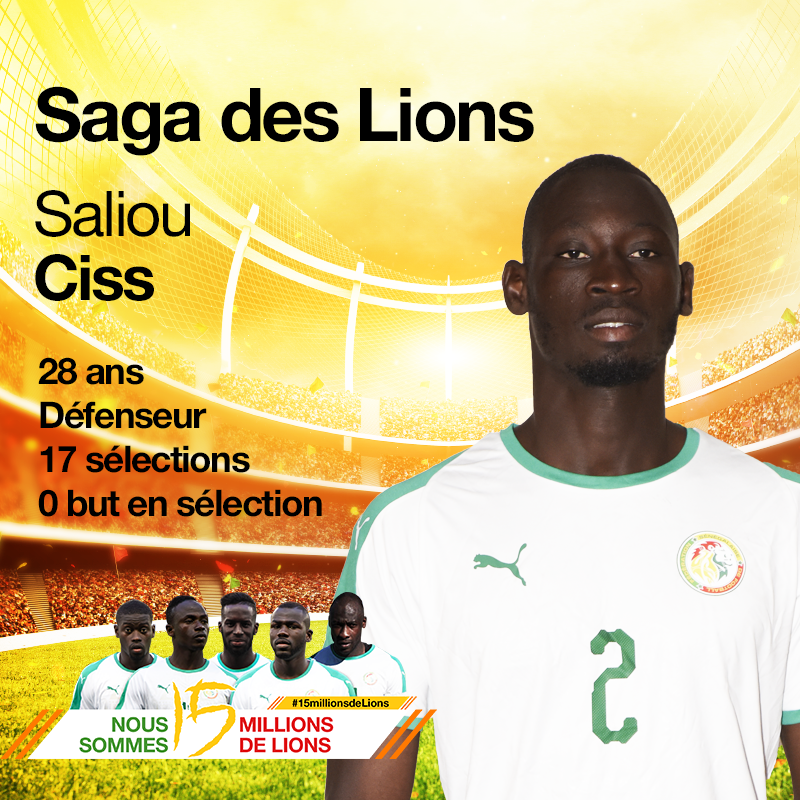 Saliou Ciss, la surprise du Chef