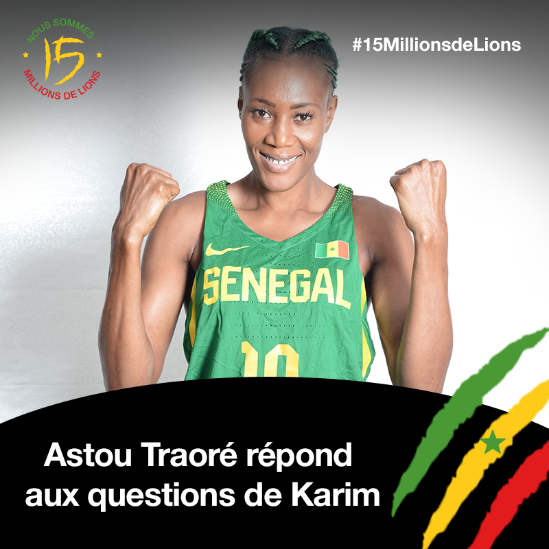 Interview Astou Traoré (capitaine des Lionnes du Basket)